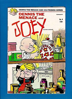 DENNIS THE MENACE AND HIS FRIENDS SERIES #6 (JUNE 1970) VG And Joey