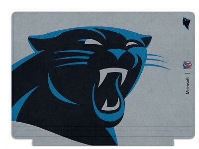 Microsoft Surface Pro 4 Special Edition NFL Type Cover - Carolina Panthers