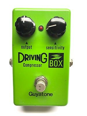 Guyatone PS-103, Driving Box, Compressor, Made In Japan, 1970's, Vintage Effect