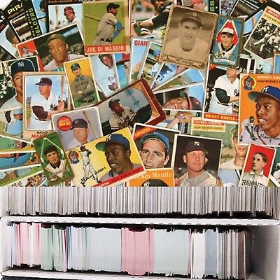 Huge Lot of 100+ HQ Baseball Cards! Pick Your Team! GREAT Value!  SHIPS FAST!!!