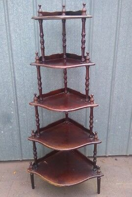 VINTAGE WHATNOT PLANT STAND 130 cms TALL