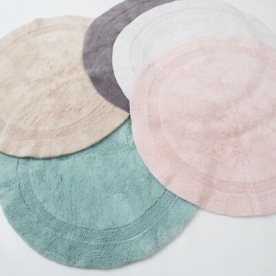 New MUSE Resort Reversible Bath Mat Round
