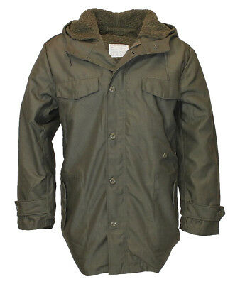 German Army Parka With Removable Full Liner Bundeswehr Classic Winter Coat Olive