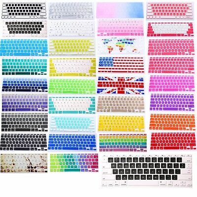 "US Silicone Colorful Keyboard Skin Cover For Apple Macbook Air 11"" A1370 A1465"