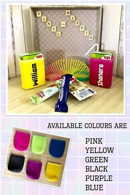 Popper Holders. neoprene. brand new. Purple. Blue. pink. Green. Yellow. Black.