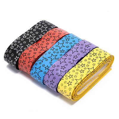 1pc star anti-slip breathable sport over grip sweat band Tennis overgrips tape H