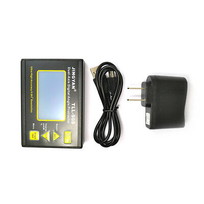 Tll-90s High Precision Laser Electronic Level Digital Biaxial Inclinometer Mini