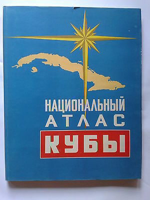 1970 NATIONAL ATLAS OF CUBA, in Russian