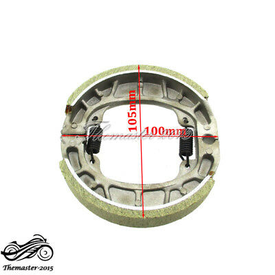 105mm CG125 Brake Shoe Rear For GY6 50cc 110cc 125cc 150cc Moped Scooter