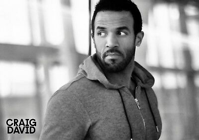 Craig David poster - #12 - music rapper - DJ - funk - A4 (297mm x 210mm)