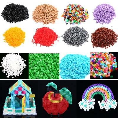 5mm 1000PCS PP HAMA/PERLER BEADS for GREAT Kids Great Fun Pick Educational Toy