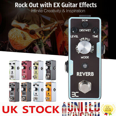 Professional ENO Reverb Guitar Effect Pedal Black True Bypass for Guitar Lovers