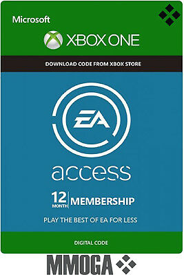 EA Access 12 Month Subscription - Microsoft Xbox One Code Key [Xbox One] - CA