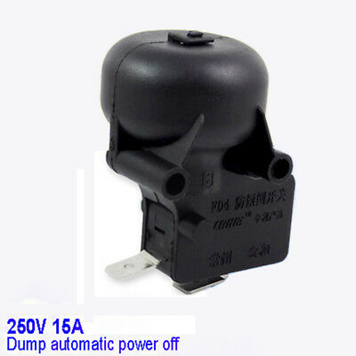 52×44mm Anti-Dump Micro Switch Tilt Shut Off Switch Electric Heater 250V 15A