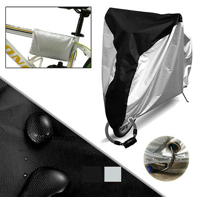 FT- Motorcycle Rain Cover Motor Bike Scooter UV Protector Water Dust Resist Fash