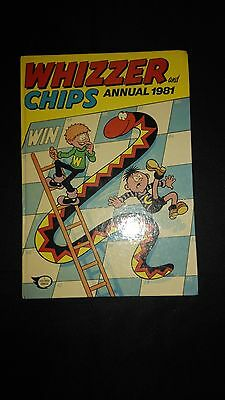 Whizzer And Chips 1981 Retro Comic Book Annual