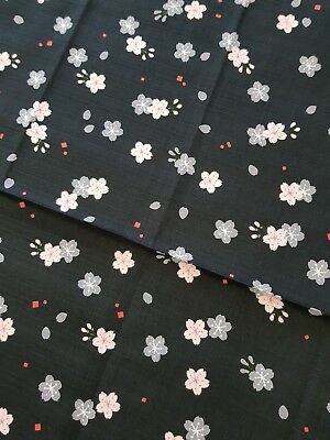 Japanese Furoshiki Wrapping Cloth with Cherry Blossom Pattern