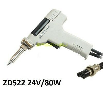 NEW Spare 88-552A ZD-522 Desoldering Gun for ZD-915 ZD-917 80W 24V 6PINS