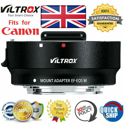 Viltrox Auto Focus Lens EF-EOS M Mount Adapter for Canon EF EF S to Canon EOS M