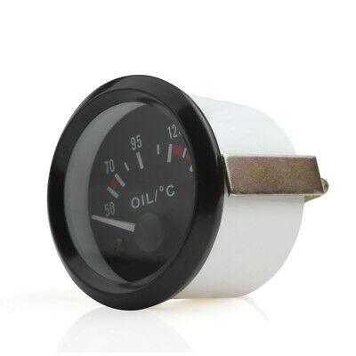 52mm 2Inch 50-150 Celsius LED Light Car Auto Pointer Oil Temperature Temp Gauge