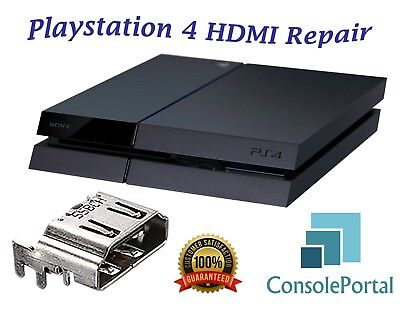 Playstation 4 HDMI fix repair replacement service any other repairs Leeds