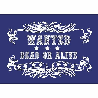 Schablone besondere Textil a5 Wanted + raclette - Rayher