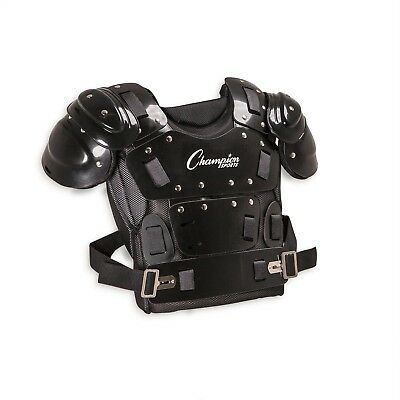Umpire Chest Protector 17 in. Pro Ergonomic Armor Wide Coverage Safety Comfort