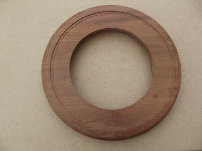 "A Mahogany 12"" Dial Clock  Suround  ( New Reproduction )"