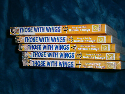 Manga CY Those With Wings volume 1, 3, 4, 5, 6  from the author of Fruits Basket