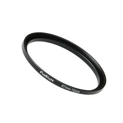 Fotodiox Metal Step Up Ring Filter Adapter, Anodized Black Aluminum 67mm-72mm...