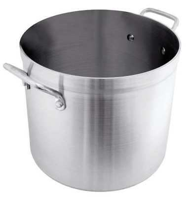 CRESTWARE POT20 Stock Pot, 20 qt, Aluminum