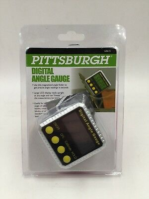 Pittsburgh Digital Angle Gauge - (Model 63615) *Brand New*