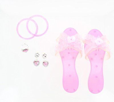 Little Girl Dress Up 5pcs Accessories Set - Pnk