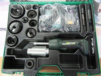 """NEW Greenlee Gator LS50L battery hydraulic knockout Speed punch die 1/2-2"""""""