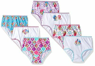 0eb35412736a Nickelodeon Toddler Girls' Shimmer and Shine 7 Pack Underwear