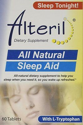 Alteril Natural Sleep Aid Tablets, 60 Ct (4 Pack)