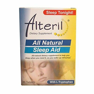 Alteril Natural Sleep Aid Tablets, 30 Ct (4 Pack)