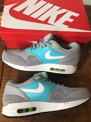 new product 2a27f 454dd NIB Women s 9.5 Nike Air Max 1 Essential 599820 024 Wolf Grey   White  Stealth