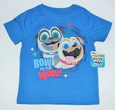 Boys Puppy Dog Pals T-shirt Sz 2T 3T or 4T Blue Graphic Top shirt NEW w tags $16