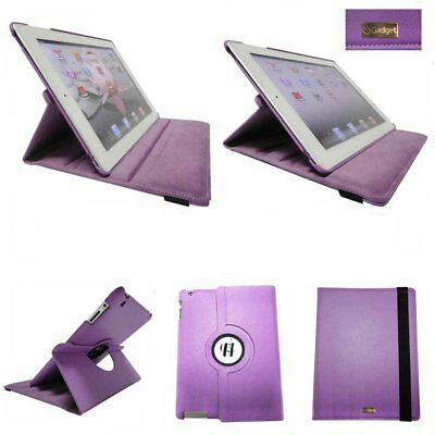 36x Bulk Job Lot Wholesale iPad 2 3 4 Case Cover Folio Stand - Purple