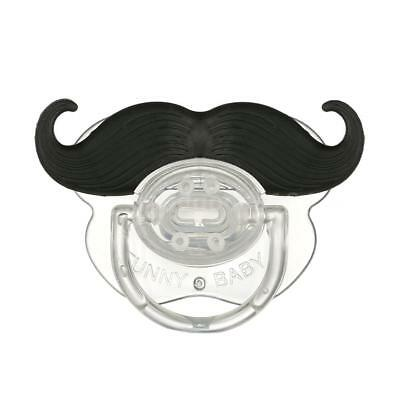 Funny Mustache Pacifier Silicone Pacifier Mustache BPA Free for Baby Infant U6W2