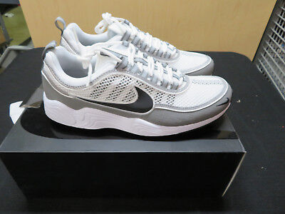 362328426dbc Nike Air Zoom Sprdn Spiridon 849776-101 White Black Light Ash Many Sizes