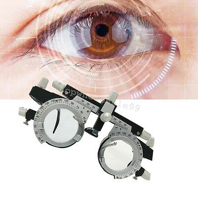 Newest Adjustable Optical Optic Eye Optometry Test Trial Lenses Frame 200mm CE