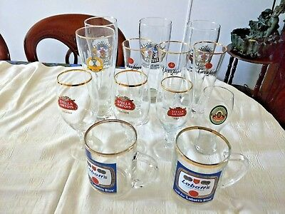 bulk collectable beer glasses