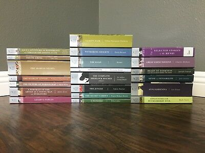 Lot Of 21 Barnes Noble Classics Instant Library Free Shipping