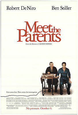 Meet the Parents 2000 27x40 Orig Movie Poster FFF-69210 Rolled Robert De Niro
