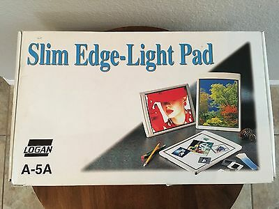 "Logan (A-5A) Electric 8 x 10"" Slim-Edge Light Pad - Good Pre-owned Condition"