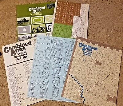 SPI Strategy & Tactics #46 Combined Arms Combat Ops 20th Century 1974 Unpunched