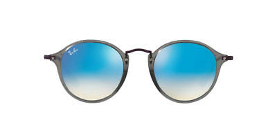 ebf8945264 Ray Ban RB2447N 62554O Grey Frame Blue Gradient Flash 49mm Lens Sunglasses