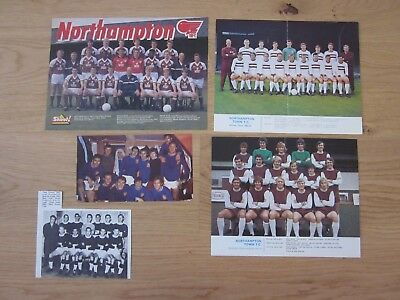 NORTHAMPTON TOWN Bundle of football team pictures £0 99